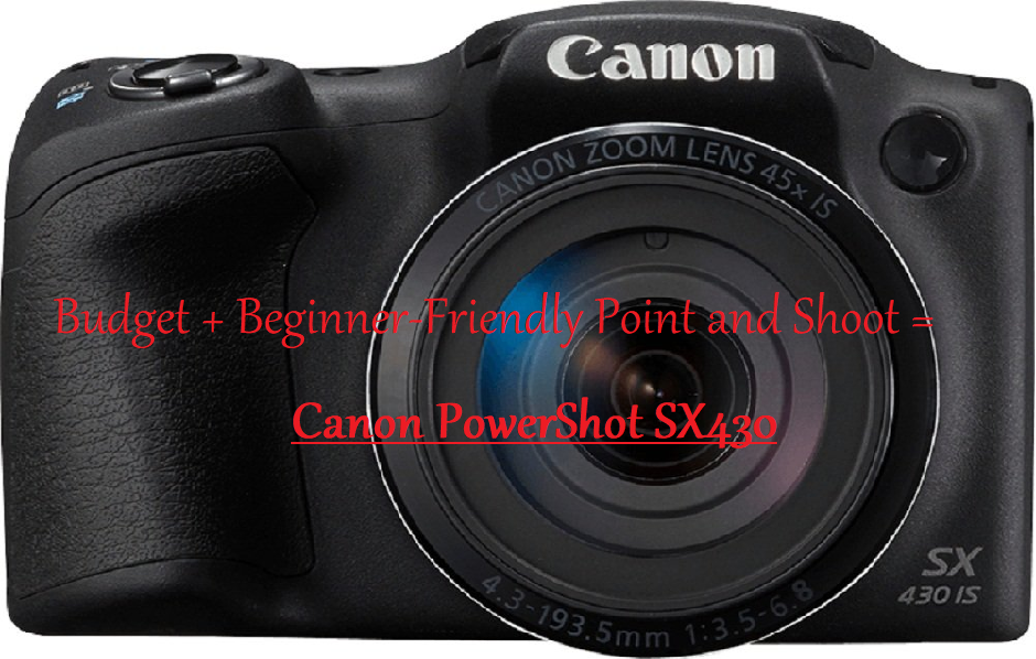 Budget and beginner-friendly point and shoot camera